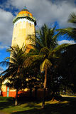 Alhambra Lighthouse. The Alhambra Lighthouse in Coral Coral Gables, Florida, is a faux lighthouse, but used as a symbol of the town in a public park Royalty Free Stock Photo