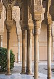Alhambra monument. Alhambra most famous monument in Granada Spain stock photos