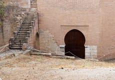 Alhambra Mudejar Door Stock Images