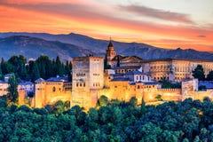 Free Alhambra Of Granada, Spain. Stock Photo - 96182900