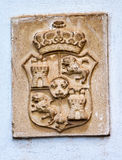 Alhambra pałac Królewski grzebień Granada Andalusia Hiszpania zdjęcia stock