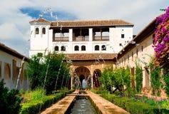 alhambra pałac Zdjęcia Royalty Free