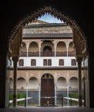 Alhambra pałac Zdjęcie Stock