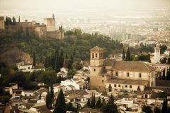 The Alhambra Palace Royalty Free Stock Photos