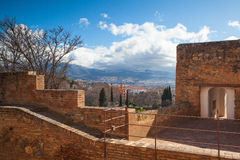 Alhambra palace Royalty Free Stock Photography