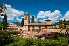 Alhambra Palace Arkivfoto