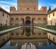 Alhambra Palace Lizenzfreie Stockfotografie