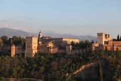 Alhambra Palace Fotografie Stock Libere da Diritti