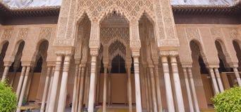 Alhambra Palace fotografering för bildbyråer
