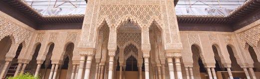 Alhambra Palace Arkivfoton
