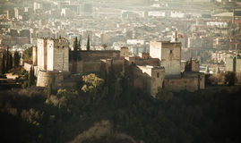 The Alhambra palace Royalty Free Stock Images