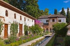 Free Alhambra Palace At Granada Spain Stock Photos - 45970553