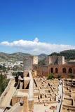 Alhambra Palace castle, Granada. Stock Photography