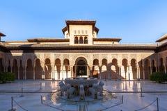 Alhambra palace Royalty Free Stock Photo
