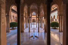 Alhambra palace. Famous Alhambra is a palace and fortress complex located in Granada, Andalusia, Spain Stock Photos