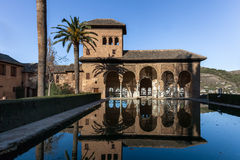 Alhambra palace Royalty Free Stock Photos