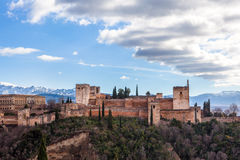 Alhambra palace Stock Image