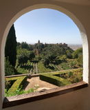 The Alhambra Royalty Free Stock Photos