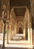 Alhambra palace and fortress complex located in Granada royalty free stock image