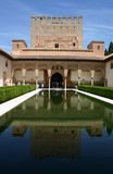 Alhambra palace in Granada, Andalusia. Spain Royalty Free Stock Images