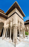 Alhambra palace, Granada, Andalusia, Spain. Detail of the famous Alhambra palace, Granada, Andalusia, Spain Stock Photos