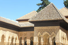 Alhambra palace in Granada. Beautiful Alhambra palace in Granada, Spain Stock Photography