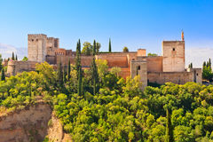 Alhambra palace, Granada, Spain Royalty Free Stock Image