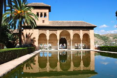 Alhambra palace, Granada, Spain Stock Photos