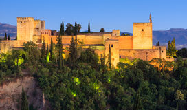 Alhambra palace, Granada, Spain Royalty Free Stock Images