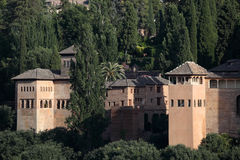 Alhambra palace in Granada, Spain Royalty Free Stock Photo