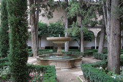 Alhambra Palace, Granada. Alhambra Palace in Granada, Spain Royalty Free Stock Image