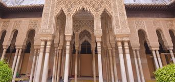Alhambra Palace. In Granada, Spain Royalty Free Stock Image