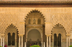 Alhambra palace in granada. Spain Royalty Free Stock Image