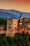 Alhambra Palace in Granada, Spain Stock Photo