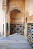Alhambra palace in Granada, Spain Royalty Free Stock Photo