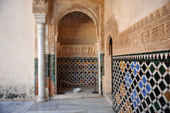Alhambra palace in Granada, Spain Royalty Free Stock Image