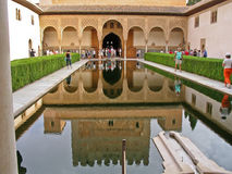 Alhambra Palace Granada Spain Stock Photo