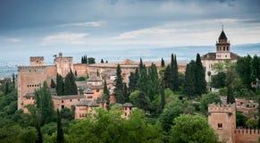 Alhambra Palace Granada Spain Stock Image
