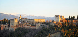 Alhambra palace, Granada, Spain Royalty Free Stock Photography