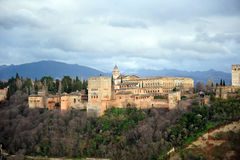 The Alhambra palace, Granada, Spain Stock Image