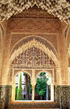 Alhambra palace, Granada, Spain royalty free stock photos