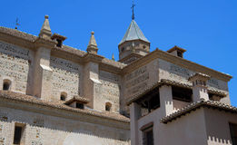 Alhambra Palace. Granada Spain in summer Royalty Free Stock Photography