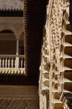 Alhambra Palace, Granada, Spanje: 8 april, 2006: Houten eaves Royalty-vrije Stock Foto