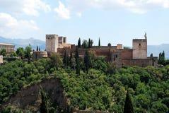 Alhambra Palace, Granada. Royalty Free Stock Photo