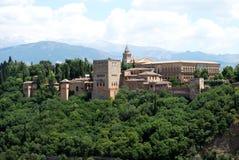 Alhambra Palace, Granada. Royalty Free Stock Photos