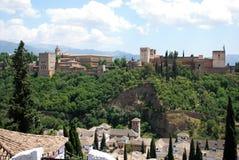 Alhambra Palace, Granada. Stock Image