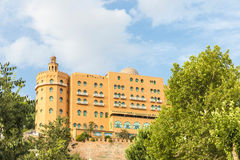 Alhambra palace hotel in Granada, Spain Royalty Free Stock Photography