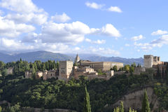 Alhambra palace, Spain Stock Photography