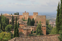 Alhambra palace, Spain Stock Images
