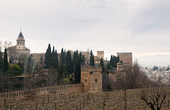 Alhambra Palace , Spain Royalty Free Stock Image